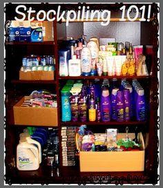 $UPER $AVIN' MOMMA'S HOW-TO $$ Stockpiling  Organization!