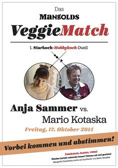 FOOD FRESHION VeggieMatch - Kochduell mit Mario Kotaska Mario Kotaska, Beluga, Mango, Kraut, Ios App, Veggies, Shit Happens, Movie Posters, Food
