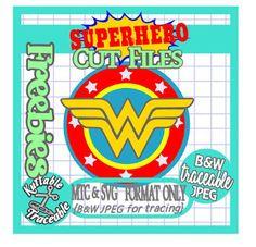MTC & SVG 25 Days Superhero Free Cut Files! Day #23 {Wonder Woman}