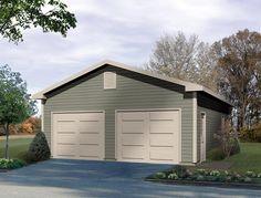 Traditional   Garage Plan 49013