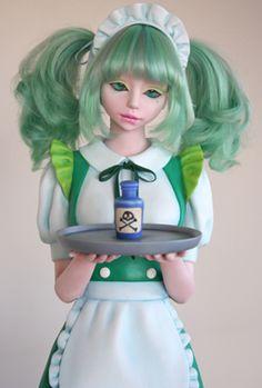 """Doll from Minori Nawata gallery """"Hospitality"""" hee, hee"""