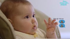 If your baby could text you right now, what would they say?