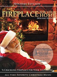 Fireplace for your Home presents Christmas Music edition >>> Check out the image by visiting the link. (This is an affiliate link)