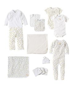 Look what I found on #zulily! Cloud Everything You Need & More Organic Layette Set - Infant #zulilyfinds