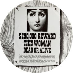 Fornasetti Theme & Variations Decorative Plate #170 at Barneys.com