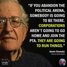 The Retson Tedheke's Blog: The U.S. Behaves Nothing Like a Democracy, But You'll Never Hear About It in Our 'Free Press' - Naom Chomsky