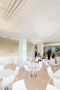 Cool Bakery Interior Design by Paulo Merlini: Appealing Bakery Shop Architecture With Creative Decorating Ideas Bakery Interior, Restaurant Interior Design, Blog Design Inspiration, Interior Inspiration, Timber Ceiling, Creative Decor, Ceiling Design, Office Interiors, Retail Design
