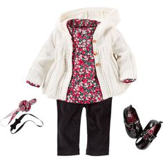 Baby Girl CARSEP1F15   Carters.com ❤ liked on Polyvore featuring baby girl and kids