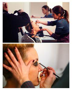 Book de fotos con sesión de maquillaje