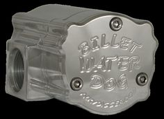 "Billet ""Water Dog"" Water Pump- Patterned from The River Rat  by Kuhl  Anodized"