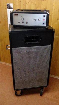 Liebhaberstück Echolette B 150 Bassverstärker, als Akkordeonverstärker<br />(mit 120...,Echolette Akkordeon - oder  Bassverstärker mit Box in Bayern - Haldenwang i. Allgäu