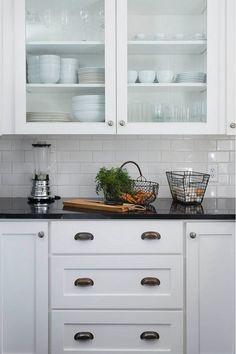 18 best black granite white cabinets images black granite white rh pinterest com