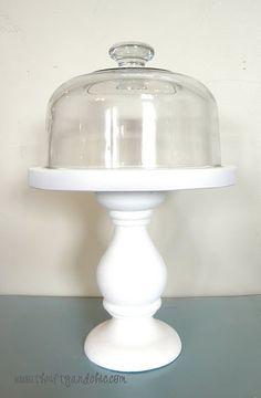 DIY Cheese Dome Cloche