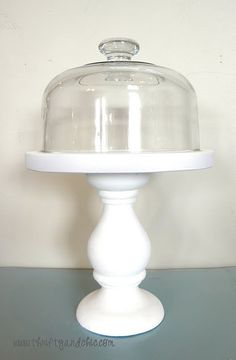 DIY Cheese Dome Cloche