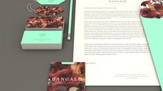 Bangalô Boutique de Flores by Estúdio Alice, via Behance
