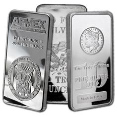 Buy Silver Online | Buy 10 oz Silver Bar - Mint Varies - .999 Fine | APMEX.com