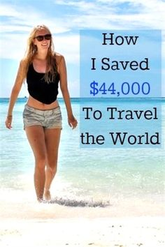 How I Saved $44,000 to Travel the World // Heart My Backpack  #VacationTravel