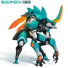 BugMechs on Behance
