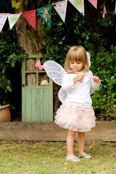How adorable is this little girls dream come true Fairy Party!!!!