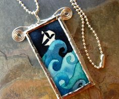 A tutorial for soldered glass art jewelry.....<3!!