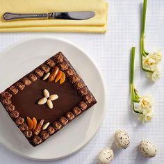 Mazurek czekoladowy #lidl #przepis #mazurek Polish Recipes, Polish Food, Tis The Season, Cooking Recipes, Lidl, Easter Ideas, Sweet, Bakken, Candy