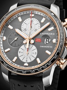 *Blog Update - Read iN!* #Chopard 44mm Mille Miglia 2021 Race Edition🏎⌚️ Limited Models iN Steel Or 18k Rose Gold Two-Tone Version...🎉