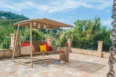 Swing, design, rattan outdoor