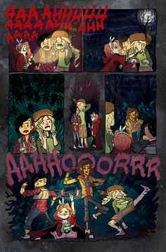 Friendship To The Max: Stevenson, Ellis, Allen And Watters Talk 'Lumberjanes' [Interview]