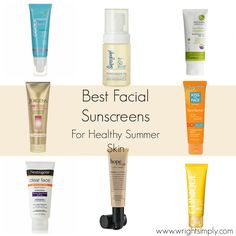 Best Facial Sunscreens for Healthy Summer Skin