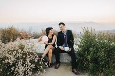 all you really need for your engagement session is each other and a couple of smiles!