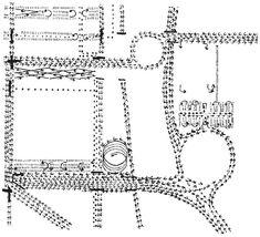 Louis Kahn - Philadelphia movement diagram
