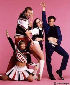 Will Ferrell, Cheri Oteri, Chris Kattan and Molly Shannon.....wish they were still on SNL