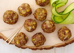 This is the Mozzarella garam masala meatballs recipe. Garam Masala, Appetizer Recipes, Appetizers, Mozzarella Stuffed Meatballs, Meatball Recipes, Beef Dishes, Food Inspiration, Food And Drink, Cheese