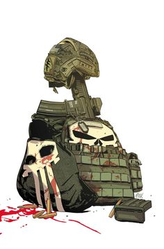 THE PUNISHER #8  NATHAN EDMONDSON  & KEVIN MAURER (W)  CARMEN CARNERO (A)  Cover by MITCH GERADS  NEW YORK TIMES BEST-SELLING AUTHOR KEVIN MAURER (NO EASY DAY) JOINS NATHAN EDMONDSON FOR THE CONCLUSION OF THEIR HARD-HITTING TALE OF JUNGLE WARFARE! • A wounded Frank Castle and a Special Forces medic hazard dangerous terrain and merciless mercenaries to make their escape • Crossbones and his crew won't stop until the Punisher is in their custody.   32 PGS./Parental Advisory …$3.99