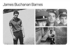 Wow I love this - Guess Im doing a bucky theme now oops . Marvel Funny, Marvel Memes, Marvel Avengers, Marvel Comics, James Barnes, Winter Soldier Bucky, Bucky And Steve, James Buchanan, Dc Movies