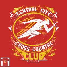 CROSS COUNTRY CLUB T-Shirt - Flash T-Shirt is $12.99 today at Pop Up Tee!