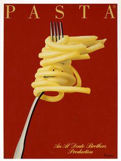 Razzia poster: Pasta (small)