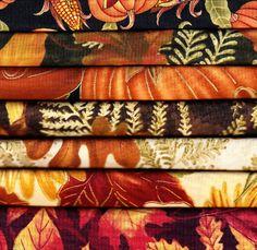 Fall Fat Quarter Bundle - 7 in bundle