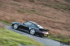 993 4S Black Action