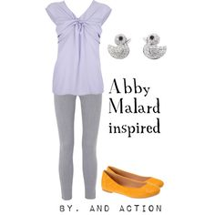 """Abby Mallard"" from ""Chicken Little"" by pet387 on Polyvore"