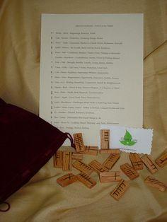 Druid Ogham Rune Set via Etsy  www.anamcaragifts.etsy.com Rune Divination, Epiphany, Rowan, Runes, Tableware, Handmade Gifts, Shop, Etsy, Kid Craft Gifts