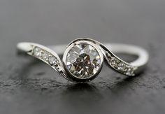 Art Deco Diamond Ring  Engagement Ring  Antique by AlistirWoodTait, £2,900.00