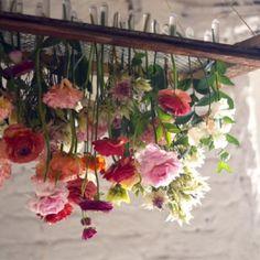 DIY Faça você mesmo Como fazer um Lustre Floral Suspenso