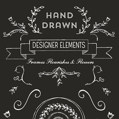 Hand Drawn Logo Design Elements
