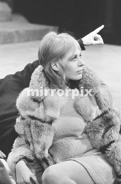 Marianne Faithfull, starring as Ophelia in Hamlet at the Chalk Farm Roundhouse in London, Press Photo-call, 13th February 1969. The show starts a 10 week season on Monday (15th).
