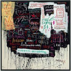 Jean-Michel Basquiat - Museum Security (Broadway Meltdown)