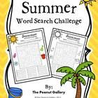 Challenge your students with this FREEBIE that involves 21 hidden summer words.
