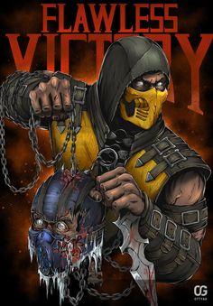 Scorpion: Flawless Victory by Bakerrrr on DeviantArt