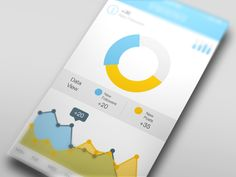 20 Stunning Mobile App Designs Featuring Graphs & Charts - UltraLinx