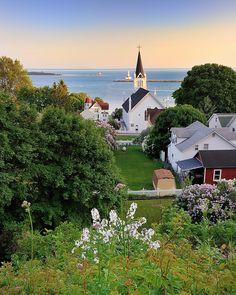 """Harbor View "" Mackinac Island , Michigan by Michigan Nut, via Flickr"